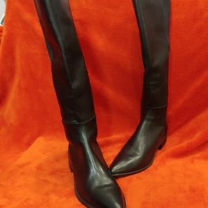 STEVE MADDEN KNEE HIGH RIDING BOOTS SIZE 10